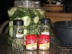 Corners of My Life: pickles