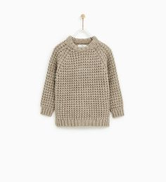 TEXTURED SWEATER-SWEATERS AND CARDIGANS-BOY | 5 - 14 years-KIDS | ZARA United States