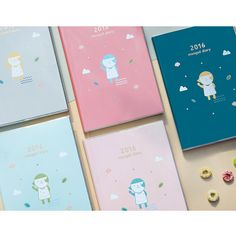 2016 Donbook Mongsil dated diary scheduler - fallindesign