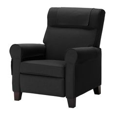 $420 EKTORP MUREN armchair - Idemo black - IKEA