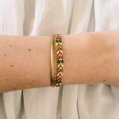 Glemmegei - Høst fiskebensarmbånd Messing, Bracelets, Gold, Jewelry, Jewlery, Jewerly, Schmuck, Jewels, Jewelery