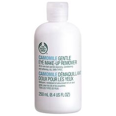 Camomile Gentle Eye Makeup Remover - item #92186 The Body Shop. I love this product. Its very gentle on the eyes & works really well.