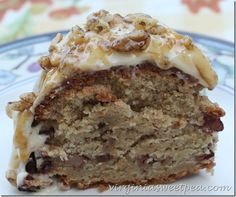 Caramel Apple Pound Cake topped with a caramel infused cream cheese icing is a delicious fall treat. Cream Cheese Icing, Angel Food Cake, Desserts To Make, Fall Treats, Cake Toppings, Pound Cake, Caramel Apples, Cake Recipes, Sweet Treats