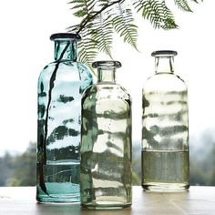 Recycled glass from Spain