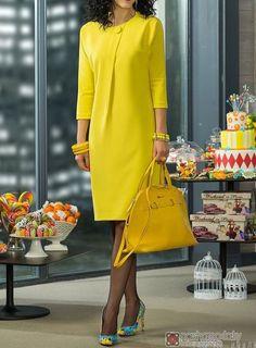 50 Fashion, Look Fashion, Fashion Dresses, Womens Fashion, Fashion Design, Nice Dresses, Casual Dresses, Short Dresses, Clothing Patterns