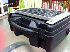 Build a high quality PORTABLE Solar Generator for $150 (vs $400 pre-made).