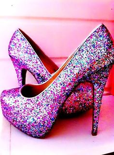 Pink and sparkly my two favourite things | Shoess | Pinterest ...