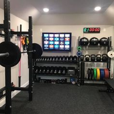 A home gym is an excellent method to conserve loan. Take a look on top home gym ideas along with small exercise room ideas for your home. #homegymdesignideasbasement #basement