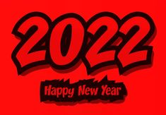 Free Red New Year Background 2022