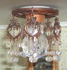 how to: chandelier AND SEVERAL OTHER IDEAS REALLLY GOOD PHOTOS LS