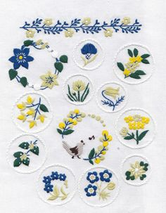 Вышивкп もっと見る Silk Ribbon Embroidery, Hand Embroidery Patterns, Diy Embroidery, Cross Stitch Embroidery, E Design, Design Crafts, Handmade Crafts, Needlework, Hand Embroidery Stitches