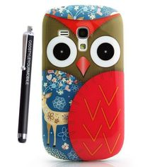 GSDSTYLEYOURMOBILE {TM} MOTOROLA MOTO G SILICONE SKIN GEL PROTECTION CASE COVER + STYLUS (Owl Face With Deer) STYLE YOUR MOBILE http://www.amazon.co.uk/dp/B00JNUEDCO/ref=cm_sw_r_pi_dp_cCL-tb1WEA7SX