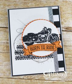 One Wild Ride, Stampin' Up!