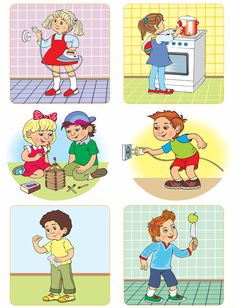 Jelenet képek, hogy a gyermekekkel a OBZH Safety Rules At School, Safety Rules For Kids, Child Safety, Preschool Printables, Preschool Worksheets, Preschool Learning, Autism Activities, Educational Activities, Activities For Kids
