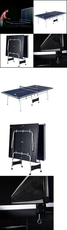 Tables 97075: Table Tennis Complete Set Regulation Ping Pong Table With Net  Paddles Balls Fold