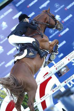 Cascais, Estoril 2014 - LONGINES GLOBAL CHAMPIONS TOUR - Edwina Tops-Alexander on Old Chap Tame