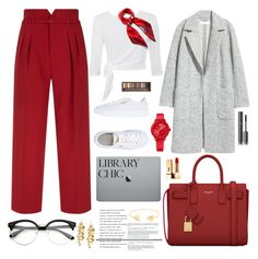 """""""Senza titolo #6693"""" by waikiki24 ❤ liked on Polyvore featuring RED Valentino, Puma, Yves Saint Laurent, Mulberry, Tommy Hilfiger, Lord & Taylor, Tory Burch, Chanel and Urban Decay"""