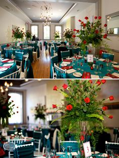 10 Downing with colorful linens