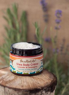 BeadforLife Shea Body Creme- Made from Natural East African Shea Butter!