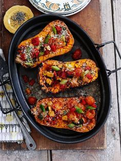 Butternut squash from the oven - Herbstrezepte - Yummy Food Pumpkin Recipes, Vegetable Recipes, Cooking Recipes, Healthy Recipes, Beef Recipes, Easy Recipes, Chicken Recipes, Dinner Recipes, Four