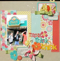 Think, think, think  *EP So Happy Together - Scrapbook.com