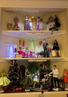 Silkyfever S Doll Room Barbie S Display N Showcase