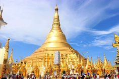 Located in Yangon, the spectacular Shwedagon Pagoda is believed by Buddhists to be around years old and is the most sacred site for the Buddhist population of Myanmar. Yangon, Chiang Rai, Angkor Wat, Myanmar Destinations, Shwedagon Pagoda, Inle Lake, Countries To Visit, Saint Petersburg, National Parks