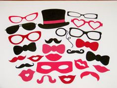 Photo Booth Prop Valentines Day Props by PimpYourParty on Etsy, $30.00