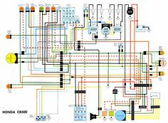 wiring diagram cb550 pinterest diagram cb550 and honda rh pinterest com Honda CB750 Wiring Schematic Simple Chopper Wiring Diagram
