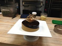 Chocolate Dulcey Entremet