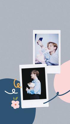 Got 7 Wallpaper, Wallpaper Backgrounds, Instagram Frame, Instagram Story, Bambi 3, Polaroid Frame, Got7 Mark Tuan, Got7 Bambam, Kpop Fanart