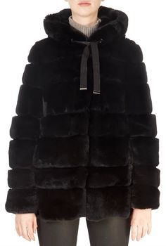 This is the stunning 'Roma' Black Rex Rabbit Coat from our friends at Intuition! A cosy piece with a central zip fastening, side pockets, and an. Sheepskin Coat, Rex Rabbit, Winter Coats Women, Intuition, Taupe, Fur Coat, Cosy, Jackets, Zip