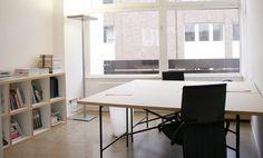 Heller Büroraum auf der Cremon Insel #Büro, #Bürogemeinschaft, #Office…