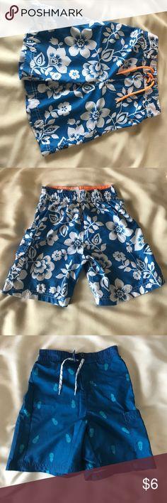 3x Boys Bathing Suit Bundle. Bundle of 3 boys bathing suits.  2x-OshKosh 1x-Carter's. Mess has been removed. Osh Kosh Swim Swim Trunks