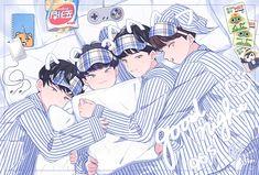 Seventeen's 96 liners - Woozi, Hoshi, Wonwoo, Jun -