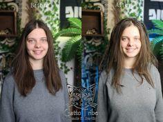 Pünktlich zum Jahresbeginn sind bei der Ayrin am Donnerstag 46 wunderschöne Dreads mit offenen Spitzen entstanden. Weil sie etwas volleres Haar hatte, haben ihre Dreads kaum an Länge verloren.😻😻Dieses schöne Ergebnis wollte ich euch natürlich nicht vorenthalten.   Mehr Infos gibts auf meiner website unter www.gattotribe-dreads.de Dreadlocks, Berlin, Hair Styles, Beauty, Fuller Hair, Thursday, Nice Asses, Hair Plait Styles, Hair Makeup