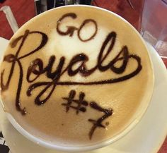 Josh Willingham's wife gives barista World Series tickets for amazing Royals coffee art