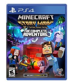 Minecraft Story Mode The Complete Adventure  PlayStation 4 * Continue to the product at the image link. Note:It is Affiliate Link to Amazon.