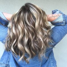 """3,183 Likes, 33 Comments - Santa Rosa Balayage Colorist (@sadiejcre8s) on Instagram: """"•BALAYMELT•....The Blonde that says """"Look at me.  See my soft Blonde?  Pretty huh.  See that Dark…"""""""