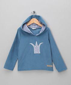 Blue Luca Top - Infant, Toddler & Girls