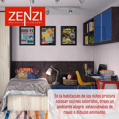 Cojines para el cuarto de los niños. Visita ZENZI y encontrarás la nueva colección de cojines. Ver más sobre decoración en www.zenzi.com.co