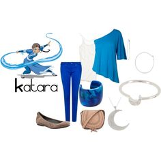 Katara, created by checkers007 on Polyvore