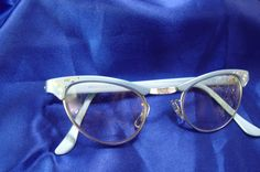 Robin's Egg Blue Vintage Eyeglasses - Retro and Cool as Jazz