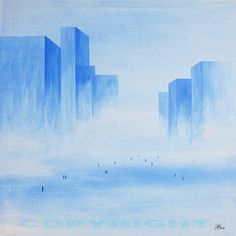 Acryl/Canvas 50 cm x 50 cm x 1,5 cm Surreal World 220,- Euro