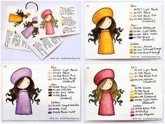 Prisma colors favorite color combos from Danielle Daws