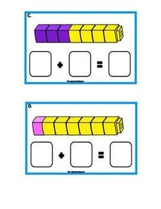 FREE PRINTABLES - Kindergarten and First Grade Math Unit - Teen numbers and place value - math centers - assessments - unit plans - worksheets and FREE printables Preschool Math, Math Classroom, Teaching Math, Classroom Decor, Kindergarten Math Centers, Kindergarten Addition, Kindergarten Freebies, Math Math, Classroom Behavior