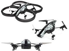 Parrot AR.Drone 2.0 720p Camera  The drone we are going to talk about is quite interesting. Sitting at the middle with the price and the quality, the Parrot AR.Drone 2.0 is a pretender for the top augmented reality drone. In order to make everything possible, it has a sporty looking design and...