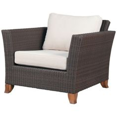 Dark Wicker chair