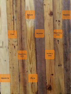 Tarima de pino insigne 190x11 cms