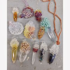 handmade glass crystals ///////////// by Urban Revisions
